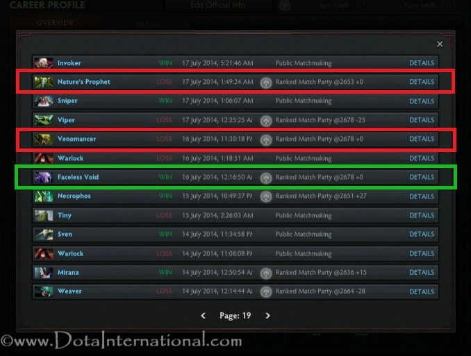 Matchmaking points dota 2