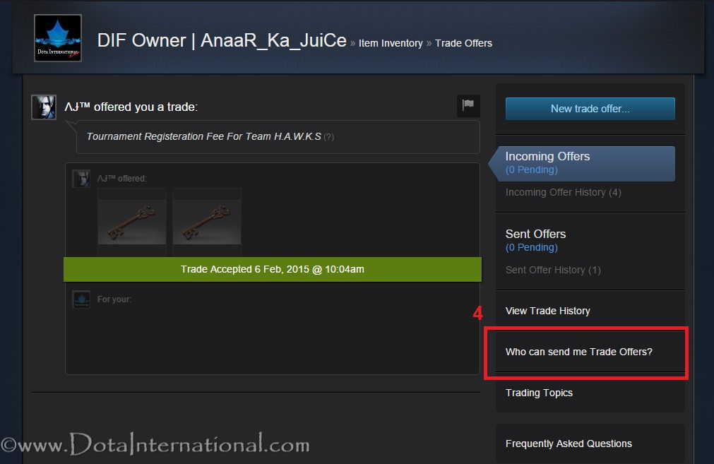 how to find steam trade url