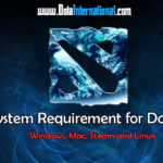 system requirement for Dota 2