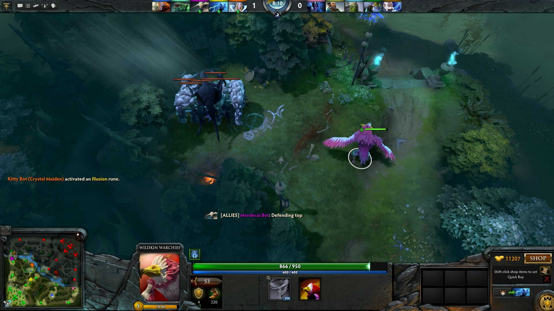 how to stack ancient creeps in dota 2 another trick