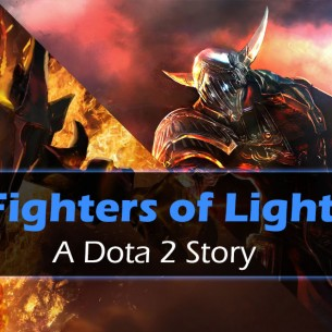 Dota 2 Story Fighters of Light