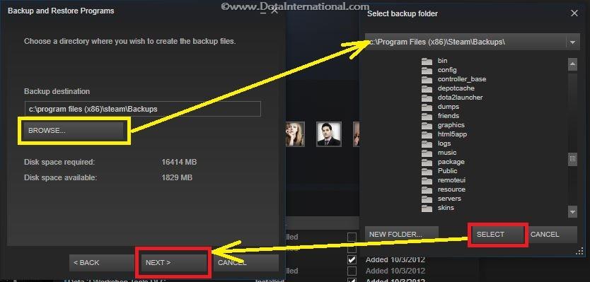 Dota 2 Backup - step 4