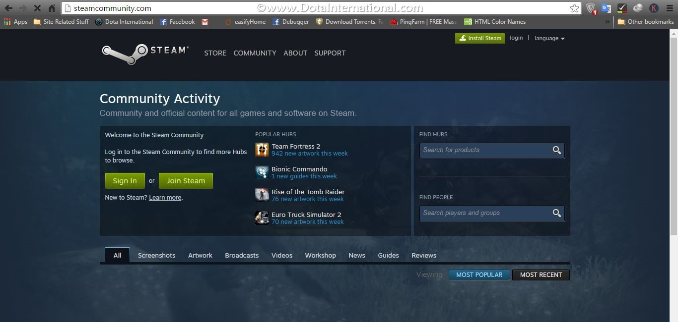 install steam step 1