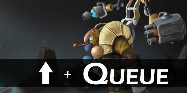 Dota 2 Shift Queue Trick