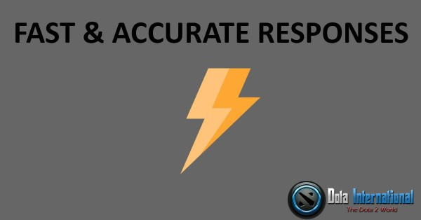 Fast and Accurate Response - Great Things that You Learn from Dota 2