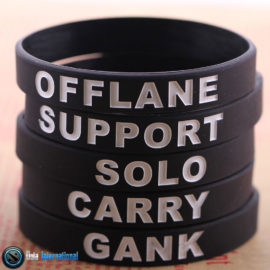 Dota 2 Silicon Bracelets – 5 Pieces
