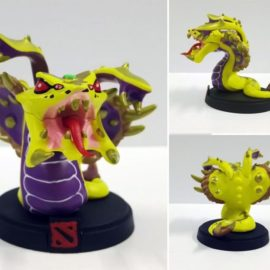 Venomancer Golden Action Figure – Dota 2