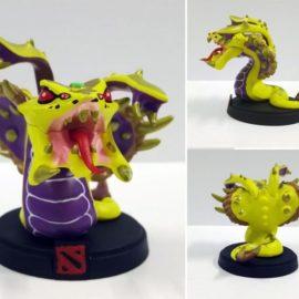 Venomancer Golden Action Figure – Dota 2
