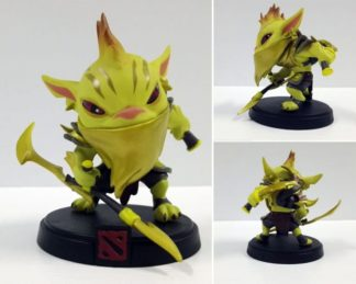 Bounty Hunter Golden Action Figure – Dota 2