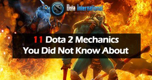 11 Dota 2 Mechanics