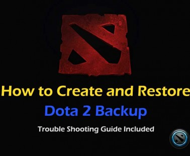 How to Create and Restore Dota 2 Backup