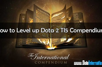 How to level up Dota 2 TI5 compendium